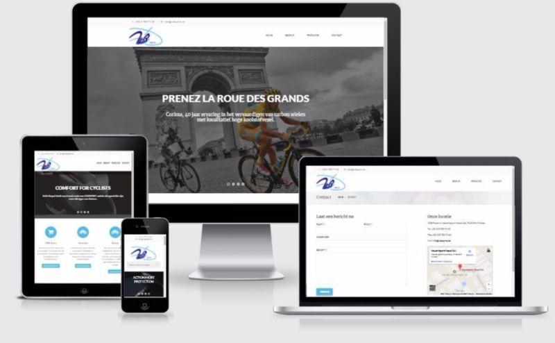 Responsive html5 website by Webdesign4u